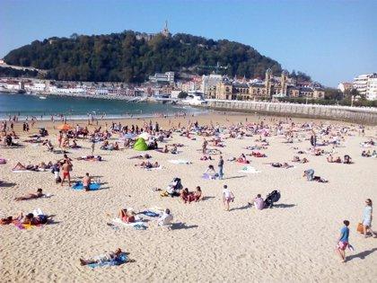 Julio ha sido un mes muy cálido en Euskadi y muy húmedo en Gipuzkoa, con  148,1 litros/m2 recogidos en San Sebastián