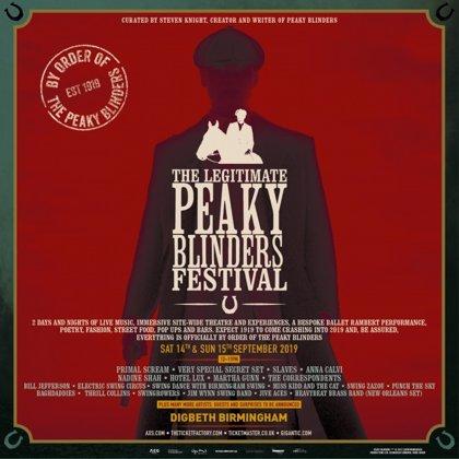 Peaky Blinders anuncia su propio festival de música (y mucho más)