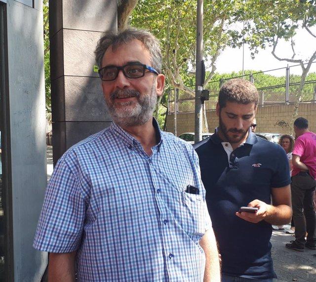 Juan Carlos Giménez, asesor del comité de huelga de Trablisa