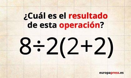 ¿Serías capaz de resolver esta operación matemática que está generando tanta confusión en Internet?