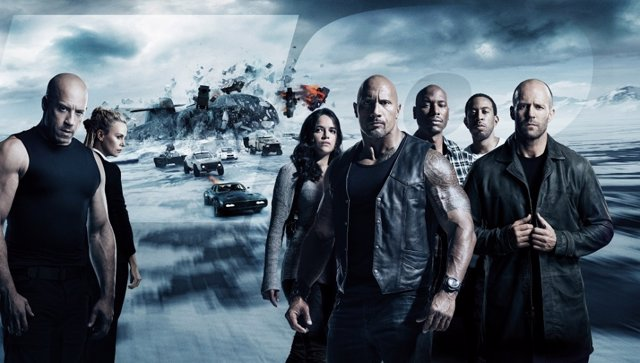 Cartel promocional de la saga Fast and Furious