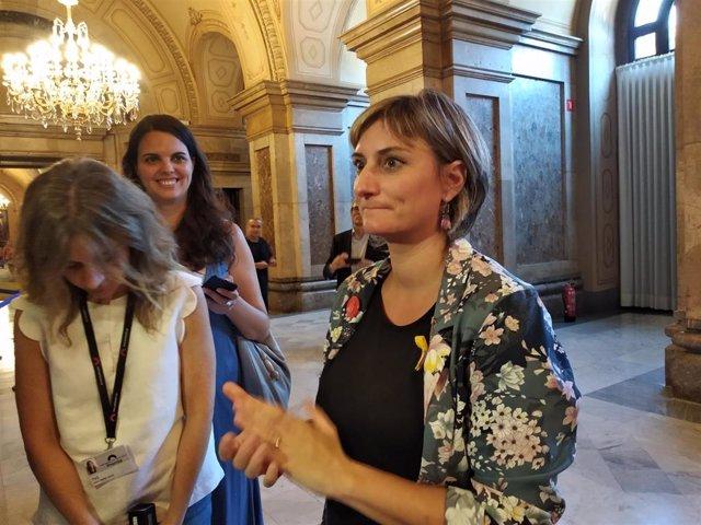 La consellera de Salud de la Generalitat, Alba Vergés (archivo)