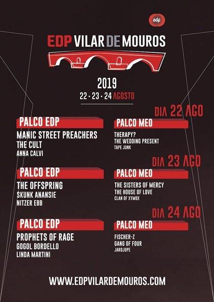 Sorteamos abonos para el festival EDP Vilar de Mouros 2019