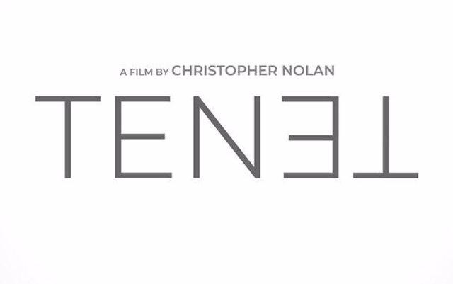 Cartel de Tenet, lo nuevo de Nolan