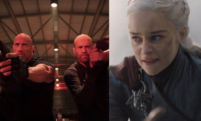 Hobbs and Shaw y Daenerys en Juego de tronos