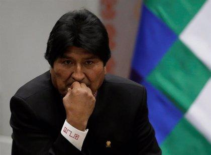 """Bolivia.- Evo Morales afronta """"optimista"""" la campaña electoral y pide a la población que no confíe en las encuestas"""