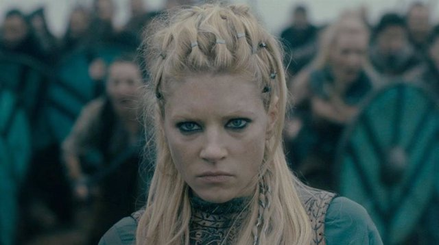 Lagertha en Vikingos