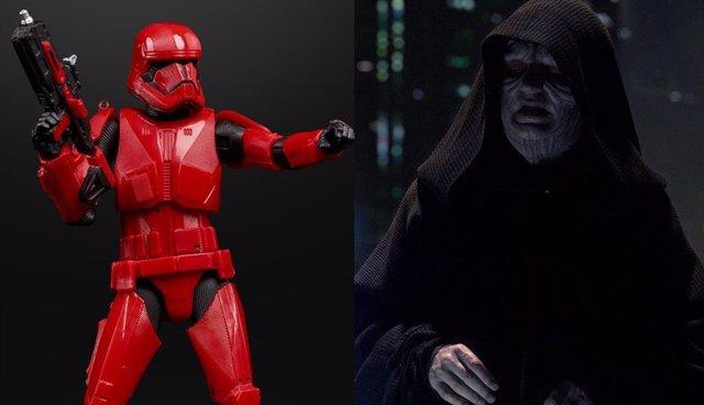 Imagen de los Sith Troopers, los nuevos soldados de asalto, que podrían estar bajo las órdenes del Emperador Palpatine