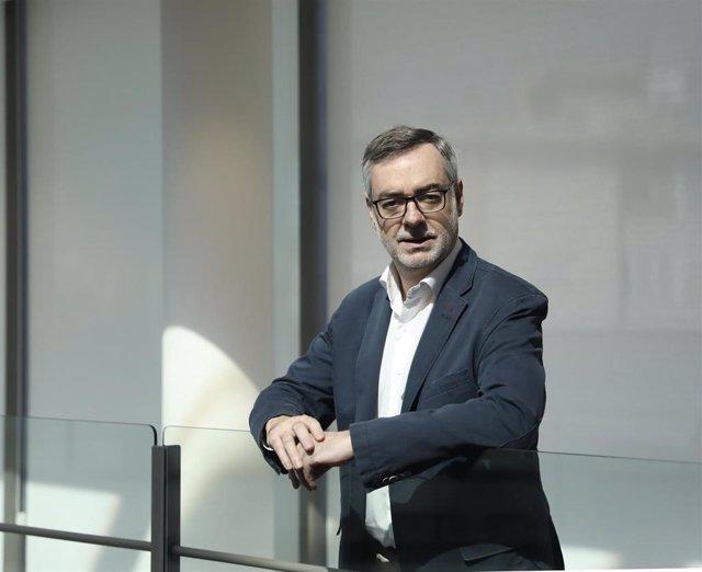 El secretario general de Ciudadanos, José Manuel Villegas, posa para Europa Press.