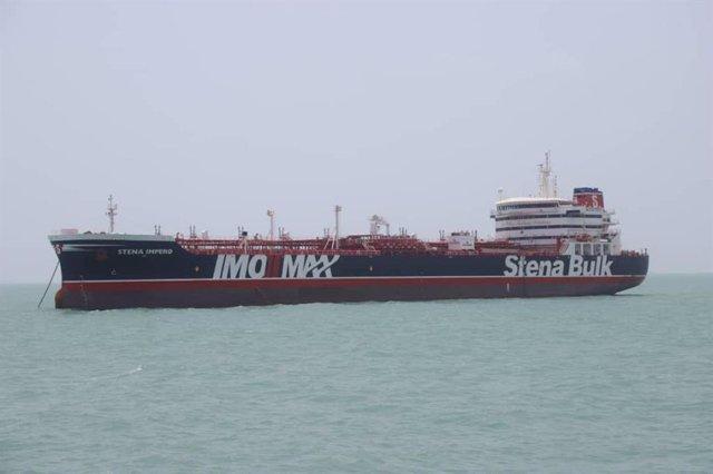 Irán.- Diplomáticos de Moscú visitan a la tripulación rusa del 'Stena Impero'