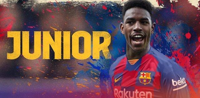 El FC Barcelona fitxa Junior Firpo per 18 milions d'euros