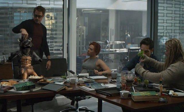 Escena eliminada de Vengadores: Endgame