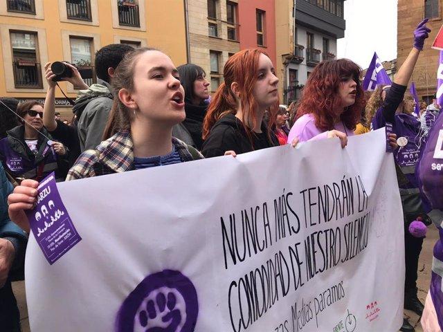 Concentración feminista en Oviedo
