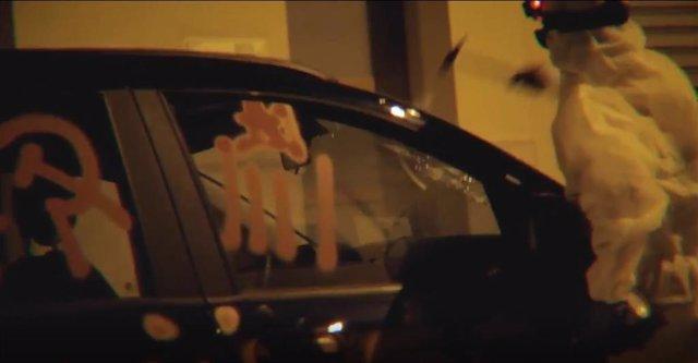 Fotograma del vídeo difundido por Arran.