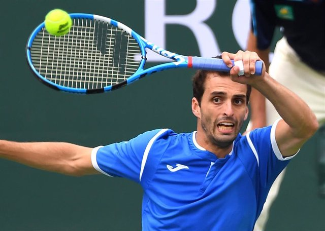 El tenista español Albert Ramos