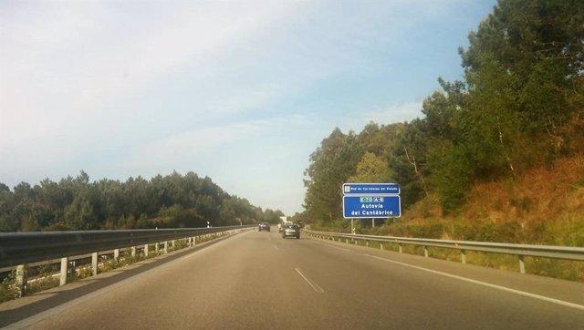 Carretera asturiana, tráfico, accidentes, Autovía del Cantábrico, A-8