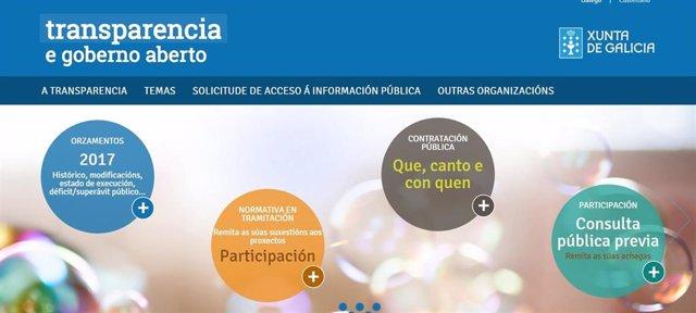 Portal de Transparencia de la Xunta