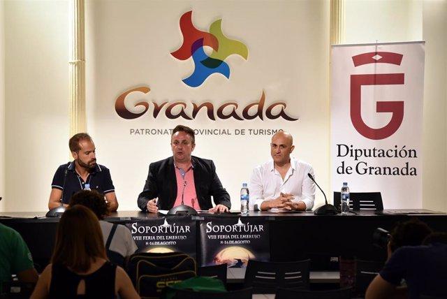 Presentación de una edición anterior de la Feria del Embrujo de Soportújar