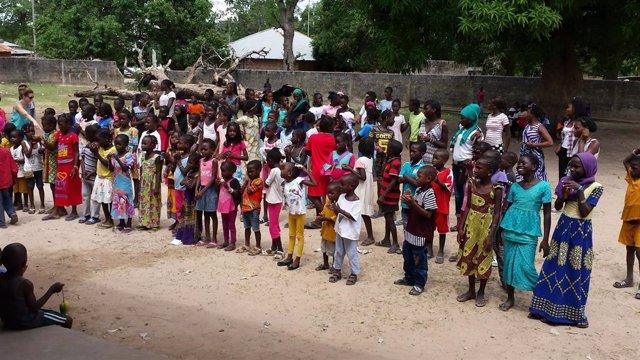 Acciones de RSC del Grupo Cofares en Senegal