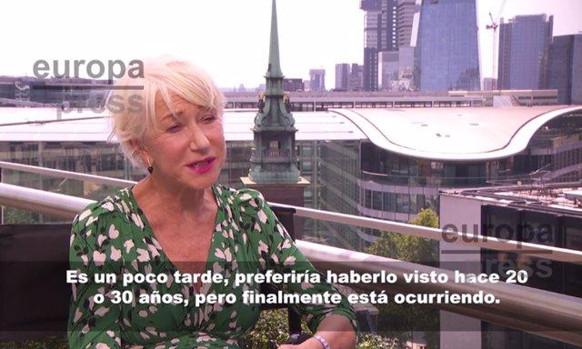 Entrevista con Helen Mirren, que vuelve a Fast and Furious en Hobbs and Shaw