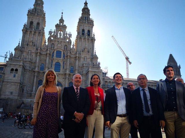 La ministra de Industria en funciones visita Galicia