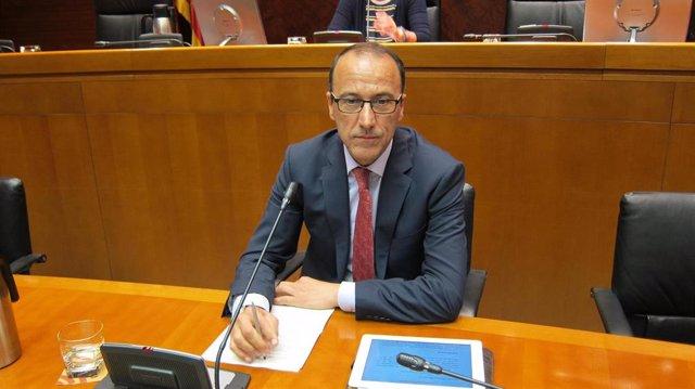 Felipe Faci, nuevo consejero de Educación, Cultura y Deporte de Aragón.