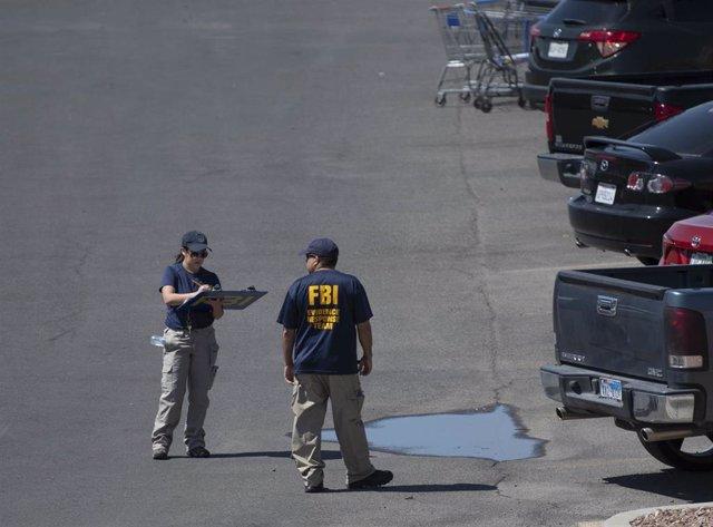 Lugar del atentado en El Paso, Texas