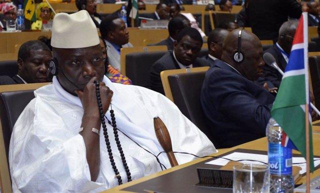 El ex presidente de Gambia Yahya Jamé