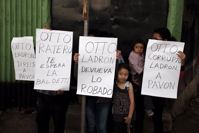 Protestas contra Otto Pérez Molina