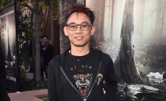 El director James Wan en la premiere de 'La Llorona'