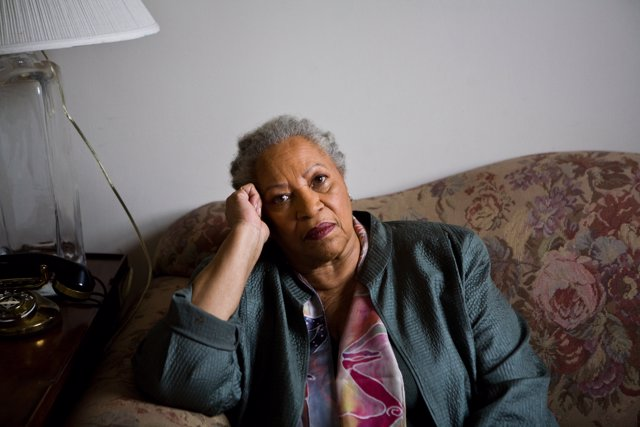 Fameed author Toni Morrison