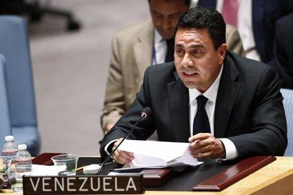 Venezuela.- El embajador de Venezuela ante la ONU pide a Guterres que condene las sanciones impuestas por EEUU
