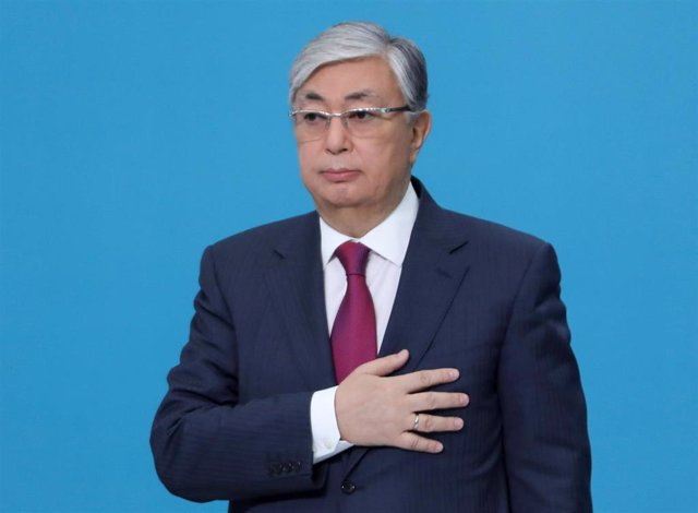 El presidente de Kazajistán, Kassym-Jomart Tokayev