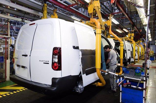 Producción del Peugeot Partner en Vigo