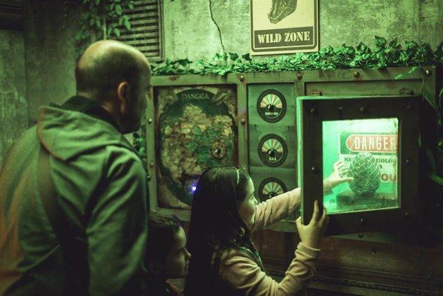 Salas de escape ambientadas en la época de los grandes dinosaurios del Jurásico que instalará el Centro Comercial Artea.