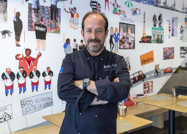 El chef del Mascaraque, José Luis Mascaraque