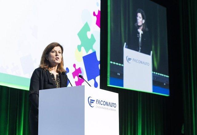 Marta Blázquez, vicepresidenta ejecutiva de Faconauto, en el XXVIII Congreso & Expo de Faconauto