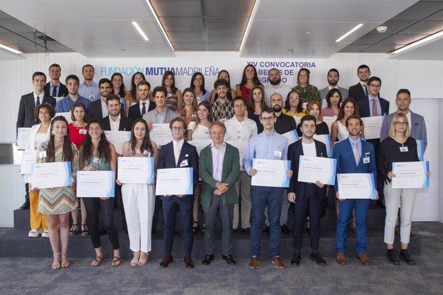 La Fundación Mutua Madrileña ha concedido 43 nuevas becas de posgrado por valor de 800.000 euros