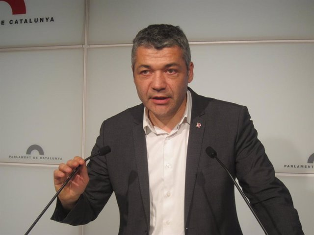 El diputado de ERC en el Parlament Oriol Amorós