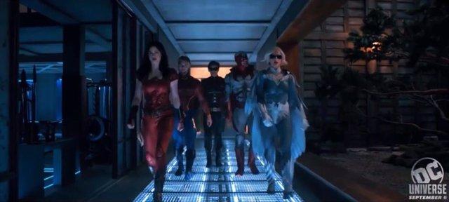 Imagen de la segunda temporada de Titanes