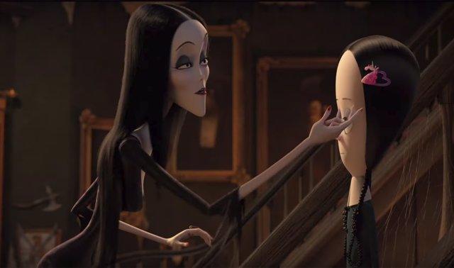 Imagen de la nueva película de La Familia Addams