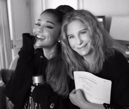 VÍDEO: El proverbial dueto en directo de Barbra Streisand y Ariana Grande