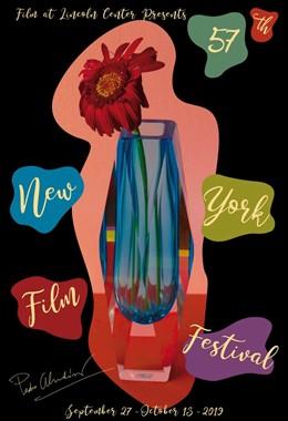 Diseño de Pedro Almodóvar del cartel del Festival de Cine de Nueva York