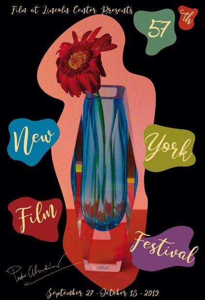 Pedro Almodóvar diseña el cartel del Festival de Cine de Nueva York y participará con 'Dolor y Gloria'