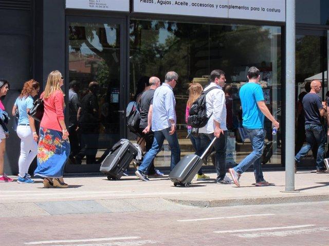 Turistes a Barcelona