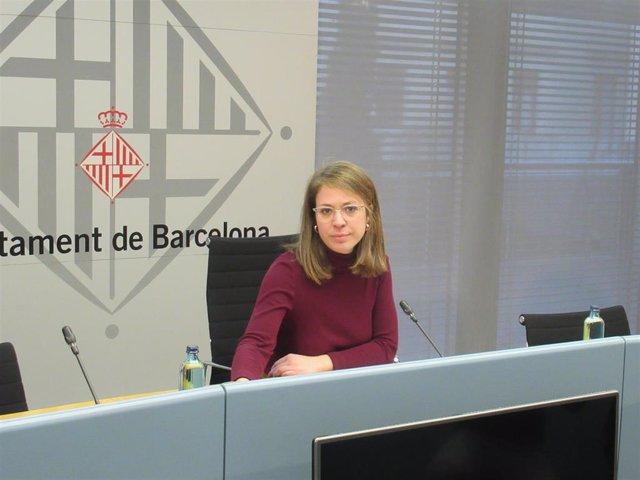 Janet Sanz, teniente de alcalde de Barcelona