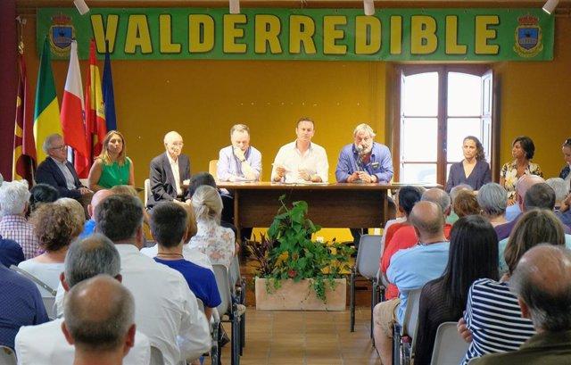 Blanco Defiende El Desarrollo Rural Sostenible De Valderredible Para Potenciar Sus Valores Patrimoniales (Nota Y Foto)