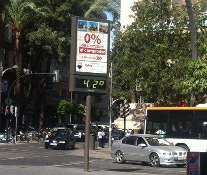 Las temperaturas alcanzan este jueves 40º en la Vega del Segura y este viernes el calor se extenderá a toda la Región