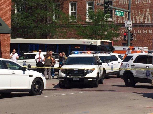 EEUU.- Heridos 25 agentes en una protesta en Memphis tras la muerte de un hombre negro a manos de la Policía