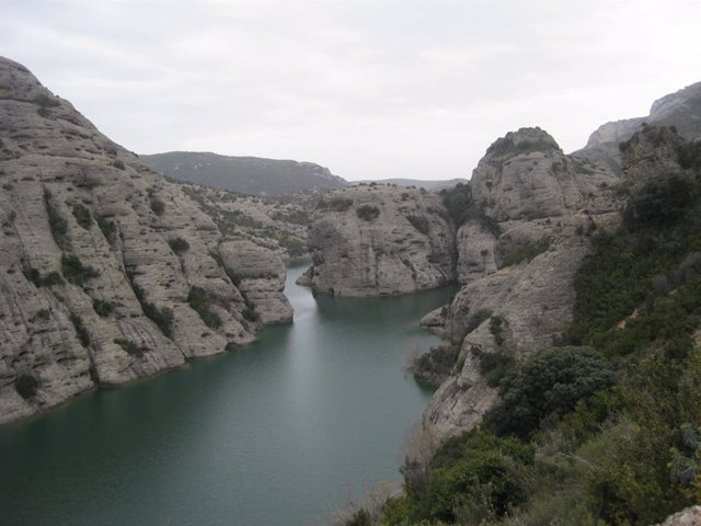 Embalse de Vadiello, en la provincia de Huesca.